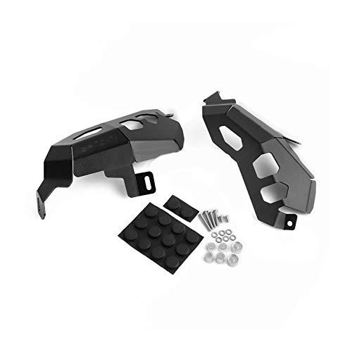TYLJ MYBHD Cubierta de protección de la Cabeza del Cilindro para Las Piezas de la Motocicleta B-MW B-MW R1200GS R 1200 GS A-DVENTURE 2013-2017 Piezas de Moto (Color : Black)