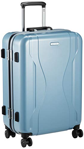 [ワールドトラベラー] スーツケース 日本製 コヴァーラム ベアリング入り双輪キャスター 58L 58 cm 4.6kg ミストラル
