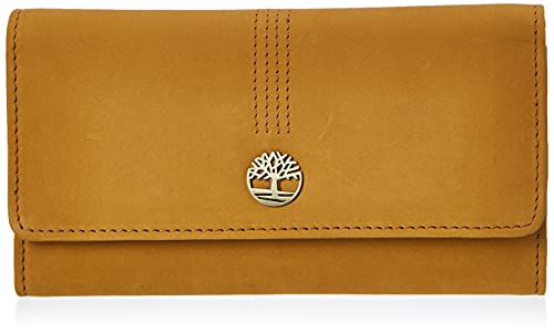 Timberland Womens Leather RFID Flap Wallet Clutch Organizer