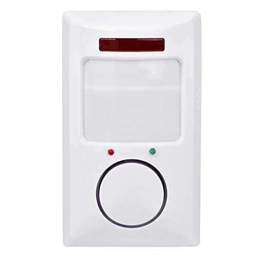 ASHATA Fensteralarm Türalarm,105dB Funkalarmsystem Infrarot Bewegungsmelder Detektor Home Alarm System,Wireless Hausalarm Einbruchsschutz Wandalarm Sicherheitstechnik für Haus/Büro/Höfe