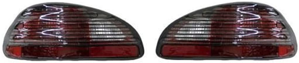 Fits 97 98 99 00 01 02 03 Pontiac Grand Prix Taillight Pair Set Both Taillamp Rear Driver and Passenger