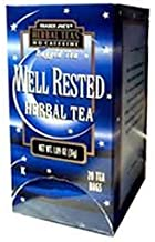 Trader Joe's Well Rested Herbal Tea No Caffeine 20 Tea Bags 1.09 oz (Pack of 4)