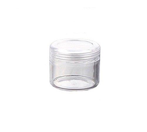 Wilotick 12Stück Kunststoff natureas Leere Behälter 20g 20ml Kosmetik Make-up Creme...