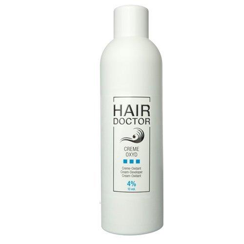 Hair Doctor Creme Oxyd Wasserstoffoxyd 4 Prozent Entwickler für ideale Farbergebnisse, 1er Pack (1 x 1000 ml)