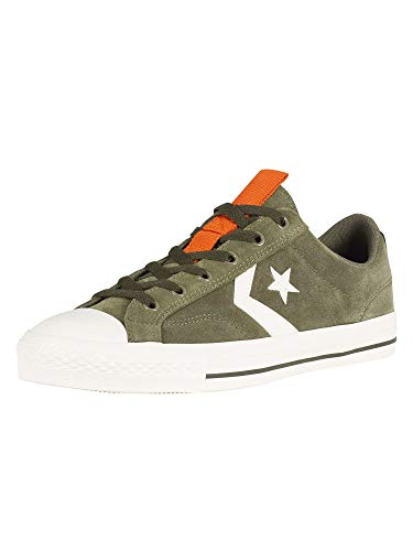 Converse Star Player, Zapatillas Unisex Adulto, Verde (Field Surplus/Egret 322), 41.5 EU