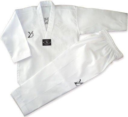Doble y Generation 2Dobok de taekwondo Blanco blanco Talla:200