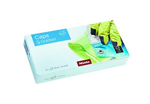 Miele Spezialwaschmittel Caps Outdoor/Waschmaschinenzubehör / 6er Pack/für hochwertige Funktionsbekleidung/EasyOpen