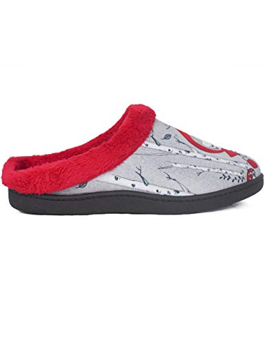 Pantuflas Zapatillas De Estar En Casa Para Mujer Invierno Roal 12213 Caperucita - Color - Rojo,...