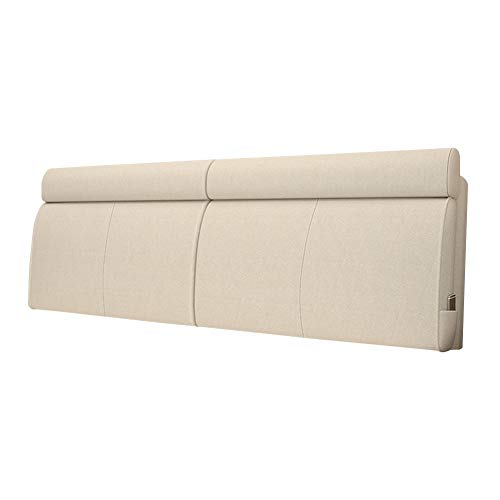 HAIPENG Cama Cojín Respaldo Lectura Almohada Grande Amortiguar por Cabecera Canapé Sofá Retirable Lavable Tapizado Lumbar (Color : B, Size : 150x10x60cm)