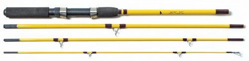 Eagle Claw Pack-It Spin-Fly Rod 4Pc 7