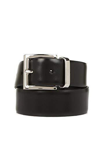 Luxury Fashion | Prada Heren 2CC0042AJ9F0RD7 Zwart Leer Riemen | Lente-zomer 20