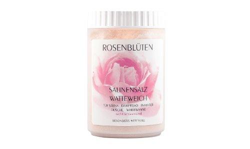 """Saunasalz Salinensalz""""Rosenblüten"""" - watteweich"""