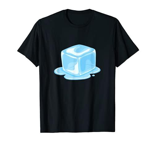 かわいいアイスキューブギフト Tシャツ