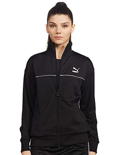 PUMA womens Classics Puma Black Jackets-S (595205)