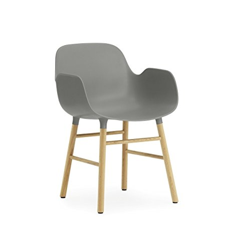 Normann Copenhagen Form Armchair Grey/Oak