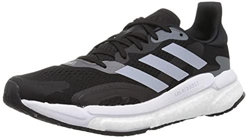 Adidas Solar Boost 21, Zapatos para Correr Mujer, Cblack/Halsil/Gresix, 38 2/3 EU
