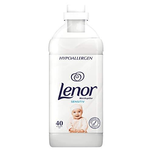 4er Pack - LENOR Weichspüler - Sensitiv (Hypoallergen) - 1,2 Liter (40 Wäschen)