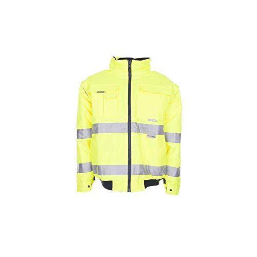 Größe XL Herren Planam Warn-/Wetterschutz Pilotenjacke Uni uni-gelb Modell 2044
