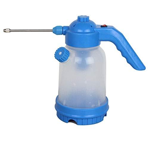 HCFSUK Regadera de jardín Regadera eléctrica multifunción Regadera Hogar Botella pequeña Spray Gran Capacidad 1.8 L Vertido