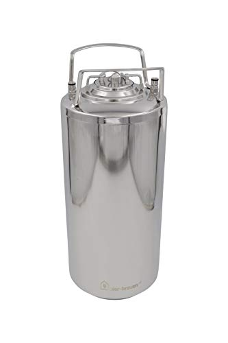 Brewzilla Barril de cerveza tipo Cornelius KEG, 19 litros