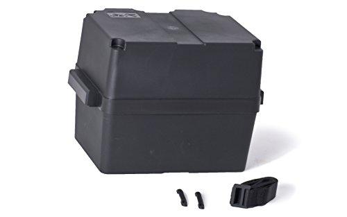 wellenshop Batteriebox mit Deckel bis 100 Ah 370 x 225 x 255 mm