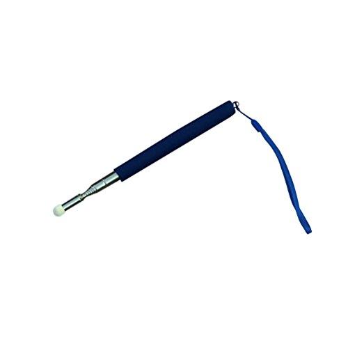 UKCOCO Teleskop Lehrer Zeiger Teaching Pointer Hand Zeiger Erweiterbar Teleskop Retractable Zeiger Handheld Presenter Klassenzimmer Whiteboard Zeiger (blau)