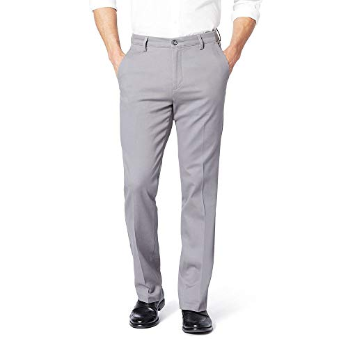 dockers Workday Khaki Slim Pantalones para Hombre, Color Gannon C Refined Storm+, 32×30