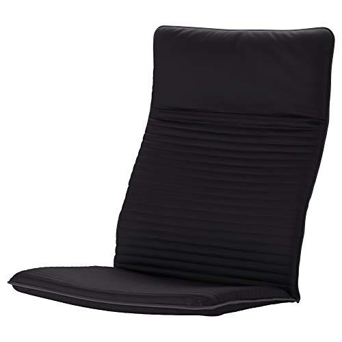 Ikea Cojín para silla Poang Knisa negro (cojín solamente)