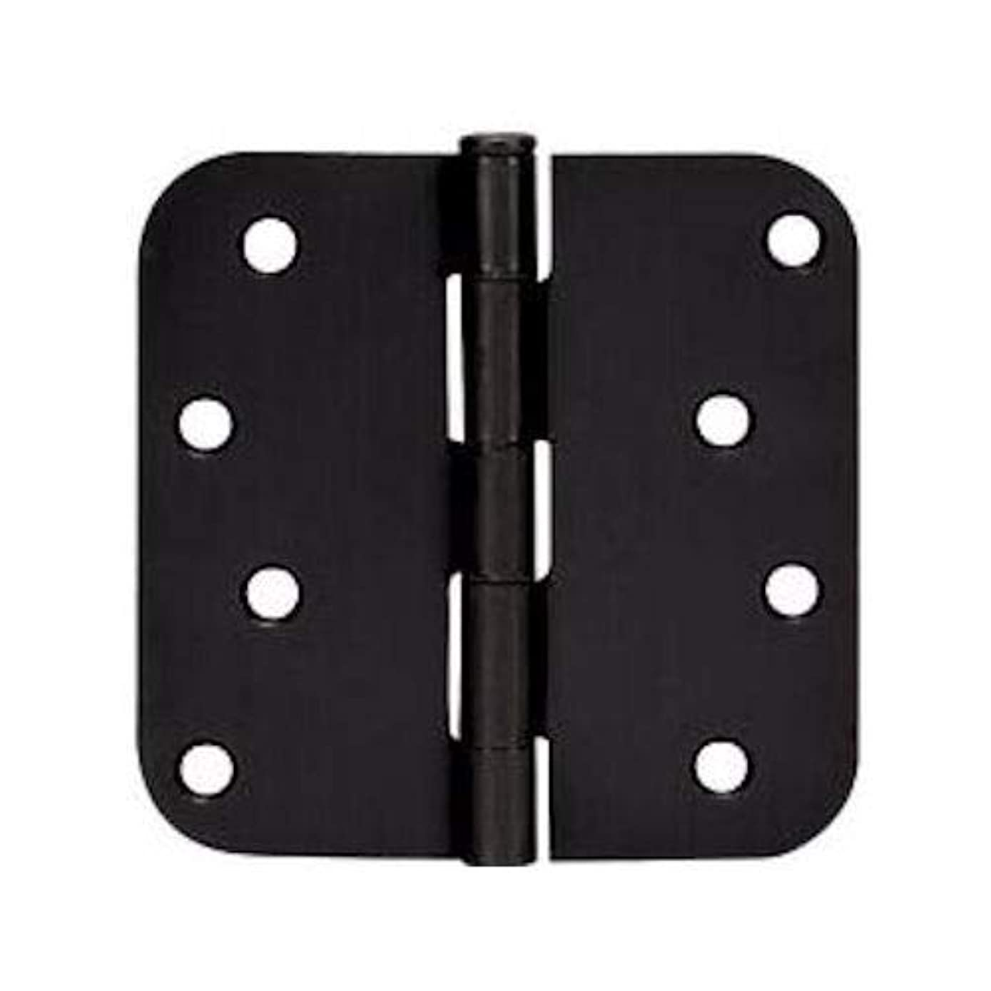 12 Pack - Cosmas Flat Black Door Hinge 4