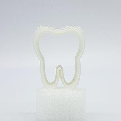 Zahn Ausstecher, 5cm / 8cm / 10cm / 12cm Größe, 25mm tief (8cm)