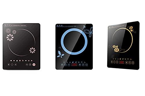 Piastra induzione 2500w piano cottura fornello singolo elettrico portatile timer