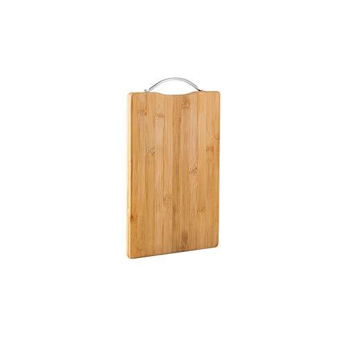 CZFSKCZ Tabla de Cortar para Cocina, Tabla de corte de madera herramienta de bambú colgante rectangular tablero de corte duradero antideslizante accesorios de cocina tablero de corte herramientas de c