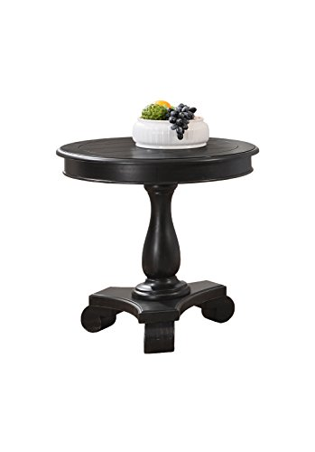 Best Master Furniture Accent Table, Black