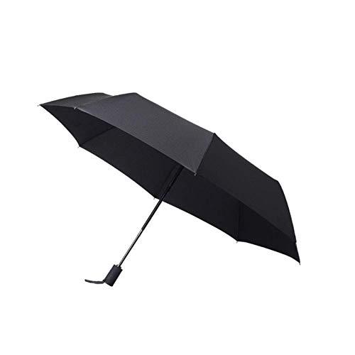 Paraguas Paraguas Compacto a Prueba de Viento, Paraguas Plegable pequeño y Abierto, Abierto y automático, Adecuado para Mochila de Golf