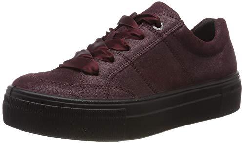 Legero Damen Lima Sneaker, Rot (Prugna 58 58), 38 EU