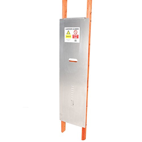 TB Davies, 1400–052, escalera guardia anti-Climb dispositivo para prevenir el acceso no autorizado para andamios o fija escalera acceso