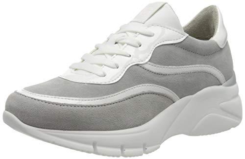Tamaris Damen 1-1-23790-24 Sneaker, Grau (Lt.Grey/White 215), 42 EU