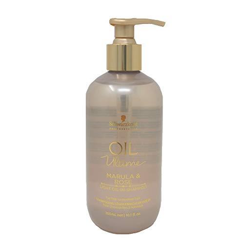Schwarzkopf Oil Ultime Leichtes Shampoo mit Marula & Rosenöl 300 ml