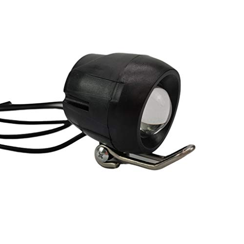 Team99 Bicicleta eléctrica incorporada Bocina faro impermeable de alto brillo LED Focos...