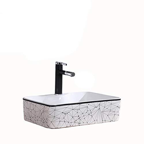 QuRong schip zinken kunst rechthoekige wastafel badkamer wastafelonderkast toilet toilet voor thuis Hotel