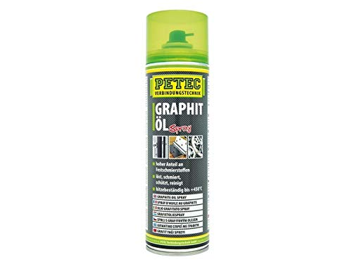 Petec 72250 GRAPHITÖL Spray