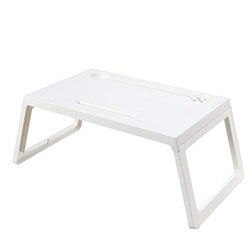 Meipai Foldable Notebook Laptop Table Heavy Load Computer Desk Stand Breakfast Serving Bed Tray