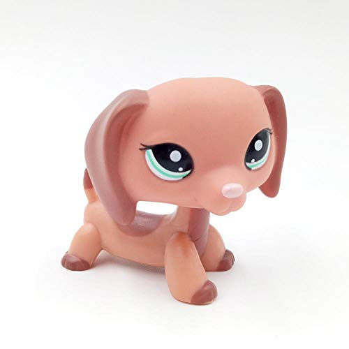 VUBD Pet Shop Kid Toy LPS CAT Rare Pet Shop Toys Dog Collection Figure Old Original Dachshund Cute Sausage Kids 2046