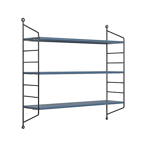 Floating Wall Shelf, Adjustable Shelf Spacing Wall Shelf, Simple Tv Wall Hanging Bedroom Shelf Bookshelf/A / 80x75x20cm