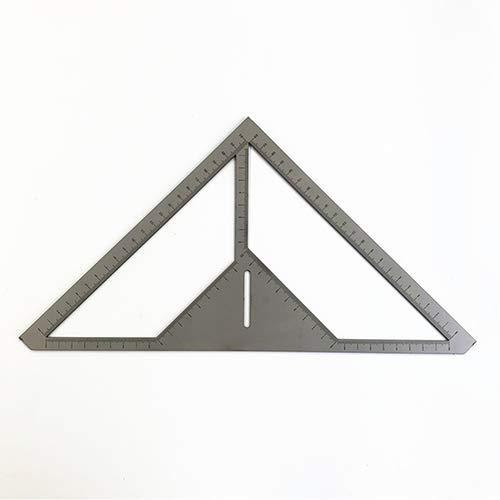 Multifunktionslineal Edelstahl Bodenablauf Lineal Maurer Werkzeug Dreieck Lineal Messen Schnell Hand Blume Typ Fliesen Lineal