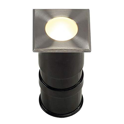 POWER TRAIL-LITE carré, inox 316, 1W LED 3000K, IP67