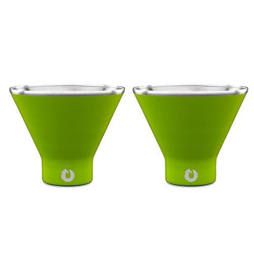 SNOWFOX Fun Collection Insulated Stainless Steel Martini and...