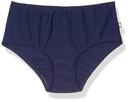 City Threads Little Girls' Swimwear Briefs Bikini Bottoms Beachwear, Navy MS, 6