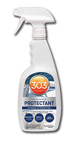303 (30306-6PK) Marine UV Protectant Spray for Vinyl, Plastic, Rubber, Fiberglass, Leather And More – Dust and Dirt Repellant - Non-Toxic, Matte Finish, 32 fl. oz., (Pack of 6)
