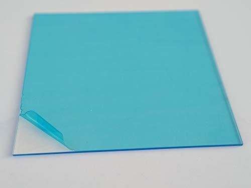 Laserplast Hoja de plástico acrílico transparente 3mm - Tamaño A3 DINA3 (297 x 420 mm)- Metacrilato acrílico transparente - Lamina plástico